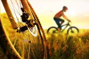 montar en bici